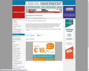 Zakelijk Pools voor Nederlanders Limburg Onderneemt